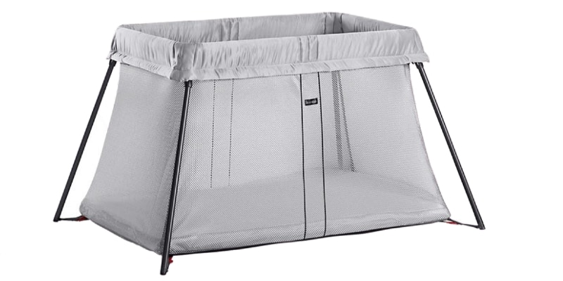 lotus travel crib vs baby bjorn