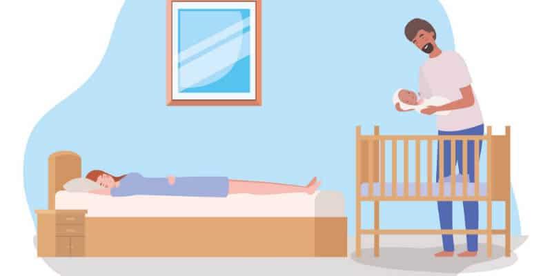 can a newborn sleep in a crib