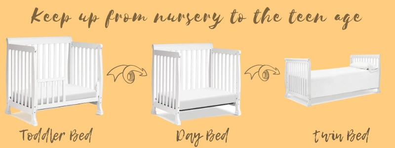 keep up from the nursery to the teen age